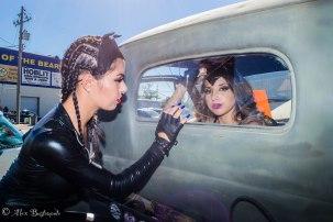 Photographer: Alexander Bustamante I Model: Gloria Conrique Wbff Pro & Michelle Monster Hanick