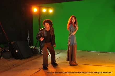 Actors_Jawara_Duncan_and_Sandahl_Galbraith_captured_by_Oscar_Benjamin_on_set_of_Badass_Monster_Killer.JPG