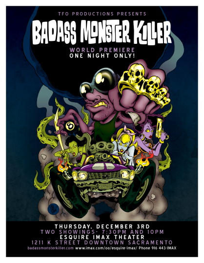 badass_monster_killer_2015_by_tfo_productions_film_poster_illustrated_by_paul_allen
