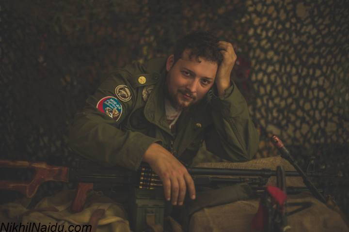 Prop Master Shaun Patrick of Sacramento FIlm Armory