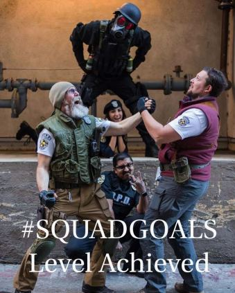 Squad_Goals_Photo_of_Cast_of_Siren's_Song_A_Resident_Evil_Fan_Film_at_SacAnime