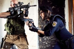 mostawesomesauce.com_Resident_Evil_Siren's_Song_promo_still_by_Bill_Ried_STARS_Members_Shane_Maus_&_Jill_Valentine_played_by_Micaela_Rubio_Posting_Up